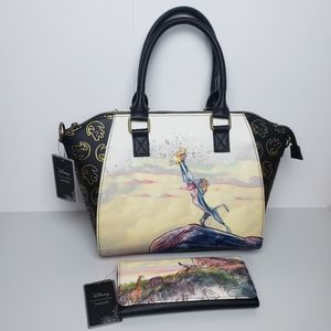 Loungefly Disney The Lion King Satchel and Wallet